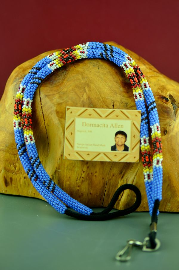 Authentic Indian Beaded Lanyard