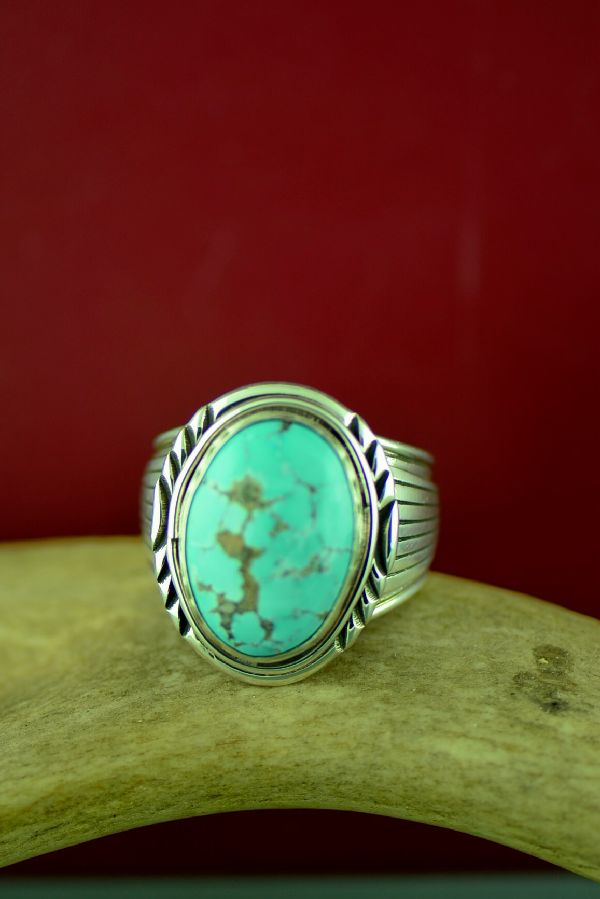 Will Denetdale Mens Turquoise Rings