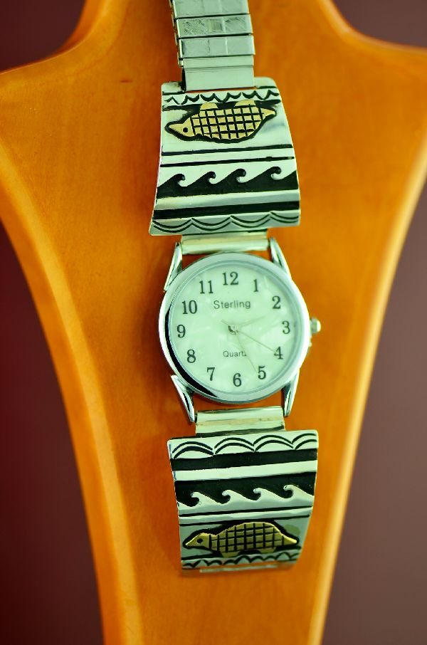 Rosita Singer Gold and Silver Turtle Watch