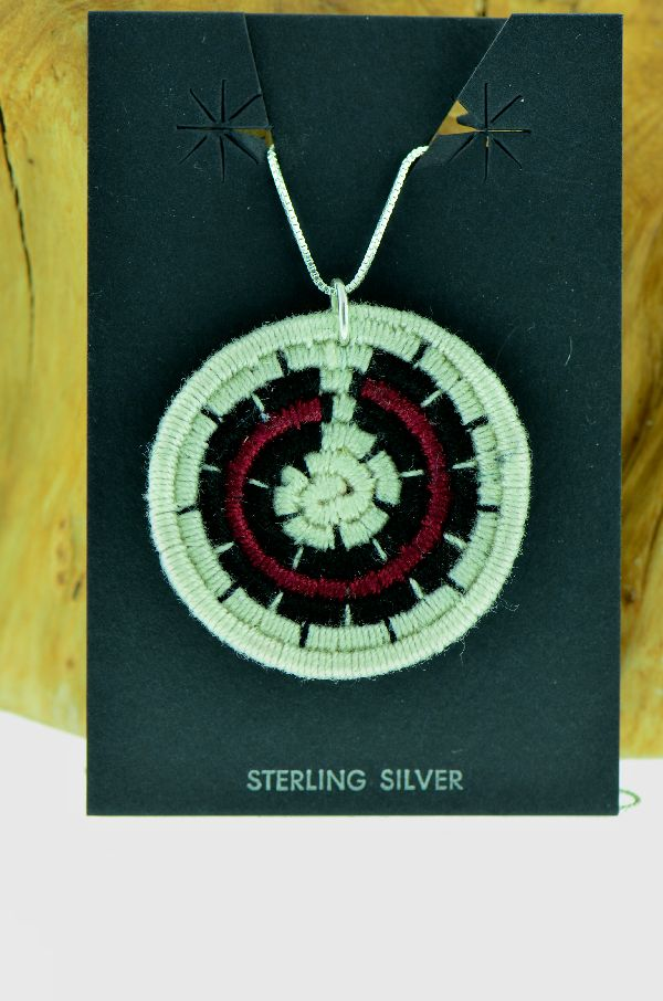 Navajo – Wedding Basket Pendant by Alice Arviso