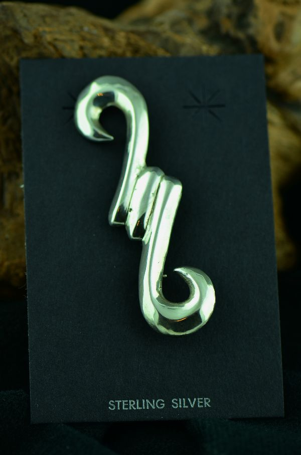 Navajo – Sterling Silver Pin