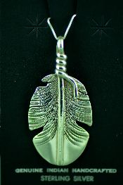 Native American All Silver Pendants Jewelry