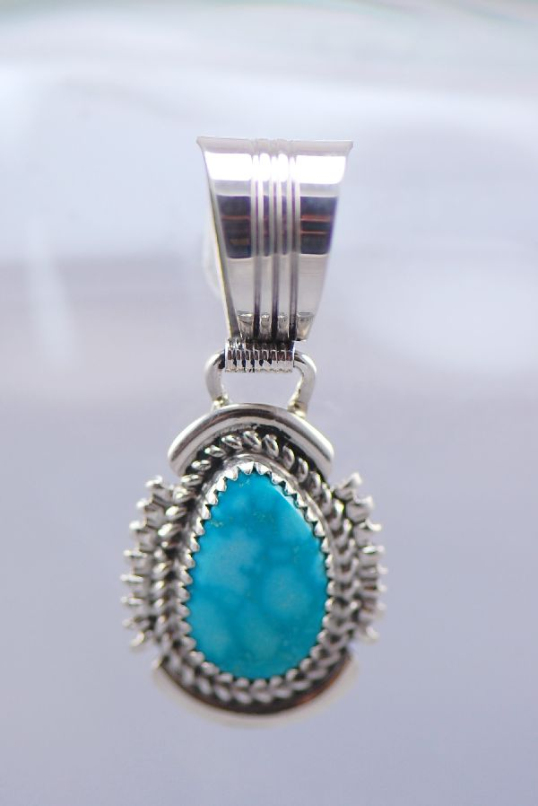 Navajo Turquoise Mountain Turquoise Necklace