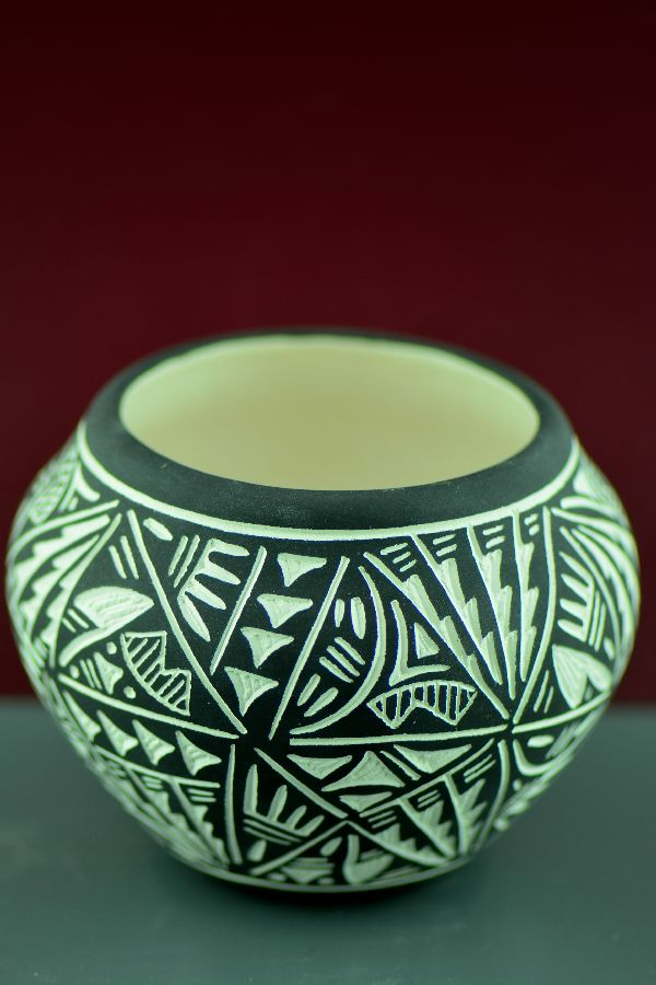 Acoma Pottery by Jarvis Antonio