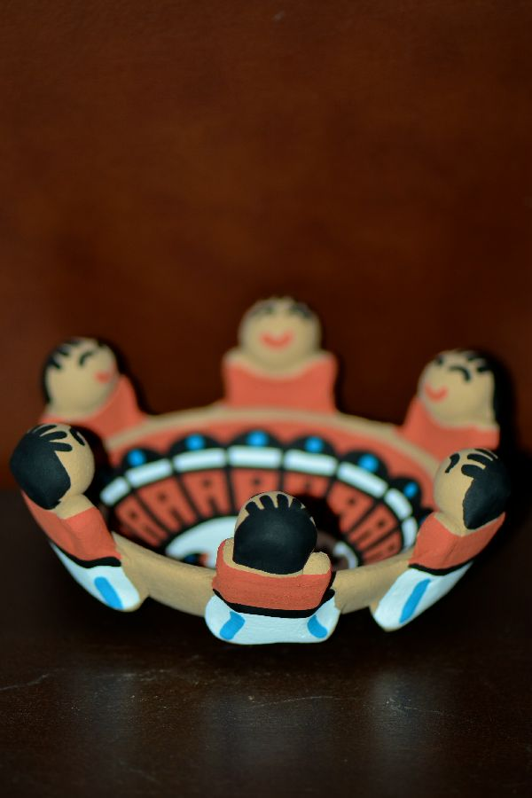 Tim Tosa - Hand Thrown and Hand Painted Friendship Pottery Bowl - Jemez