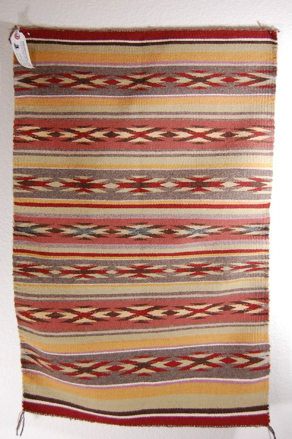 """Wide Ruins Pattern"" Navajo Rug Mary Louise Gaddy"